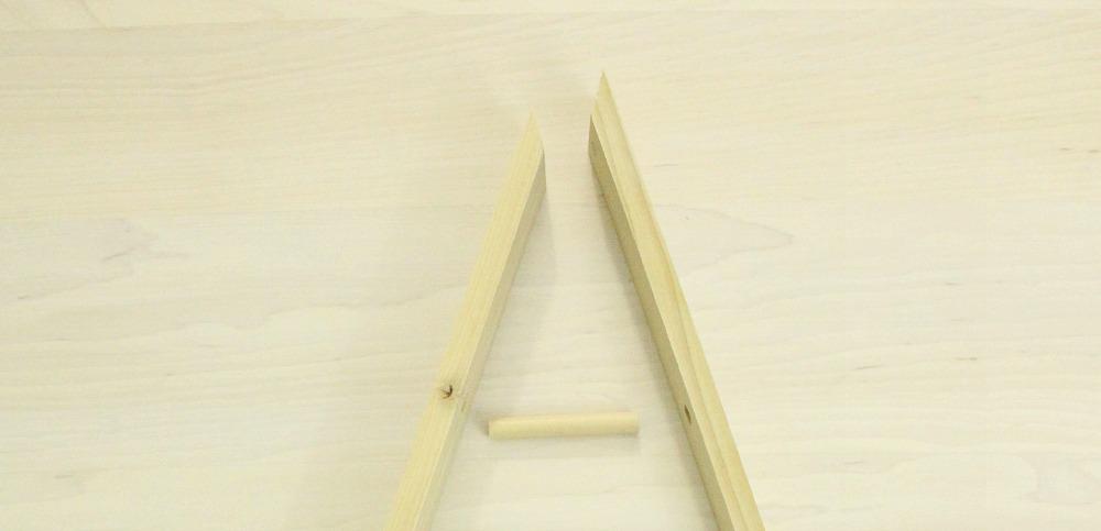 Mitered Corner Triangle