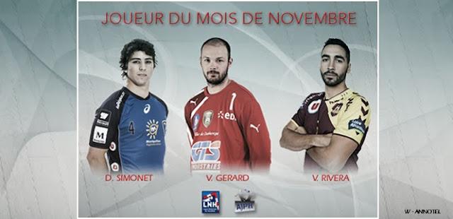 Diego Simonet: Candidato a jugador del mes en Francia | Mundo Handball