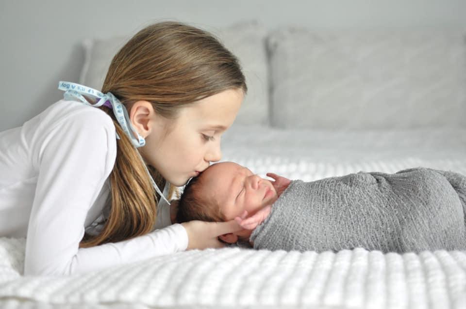 My Grandchildren: Megan and her little brother Ben