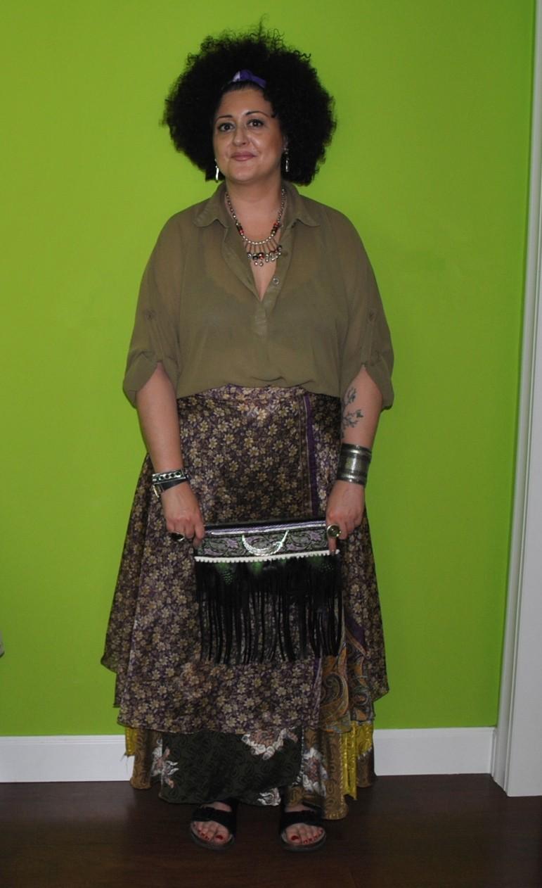 Look maxi falda india - Handbox Craft Lovers | Comunidad DIY ...