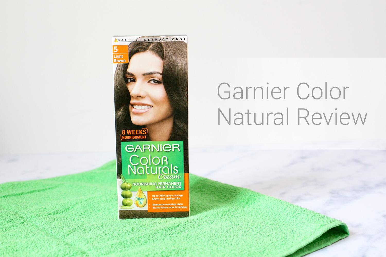 Garnier Hair Color Natural Review | Milk Mochi