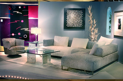 Modern Interior Design Showroom