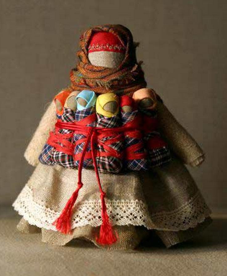 Тряпичные русские куклы