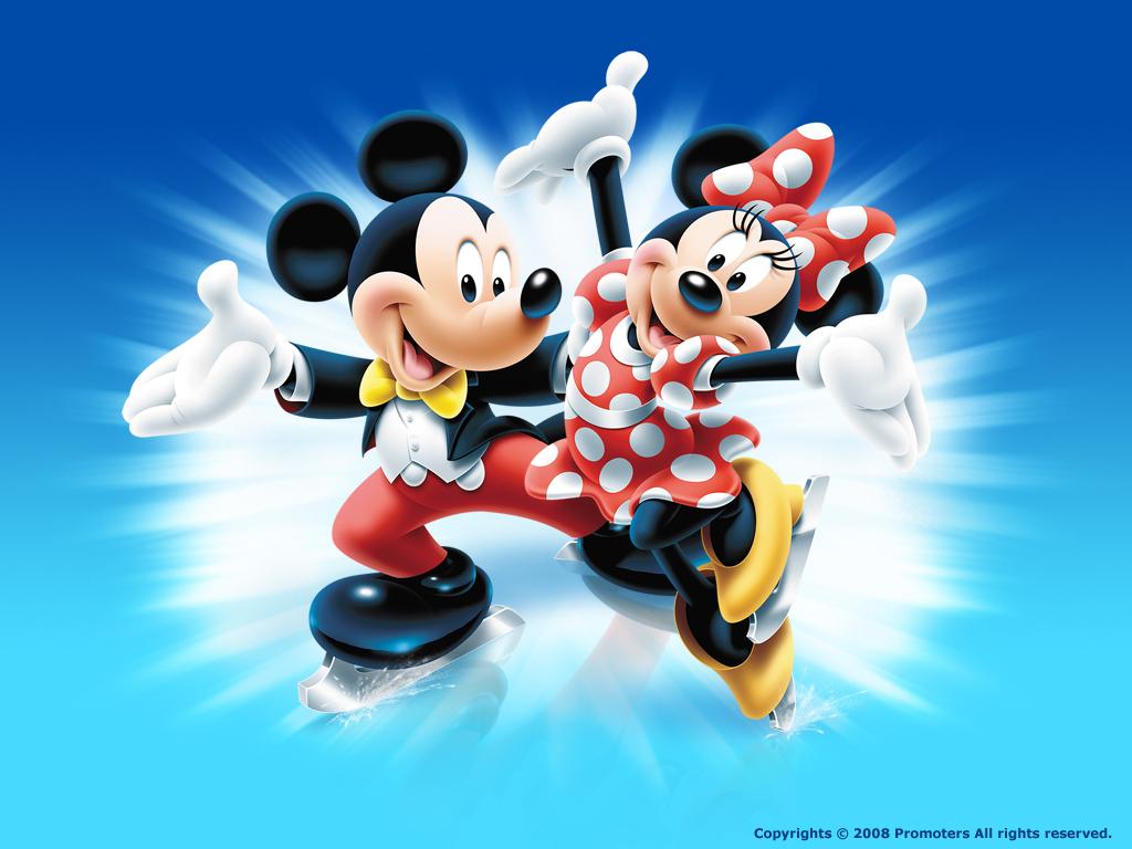 Papier peint Mickey Mouse Disney Bébé Gavroche - Papier Peint Mickey Et Minnie
