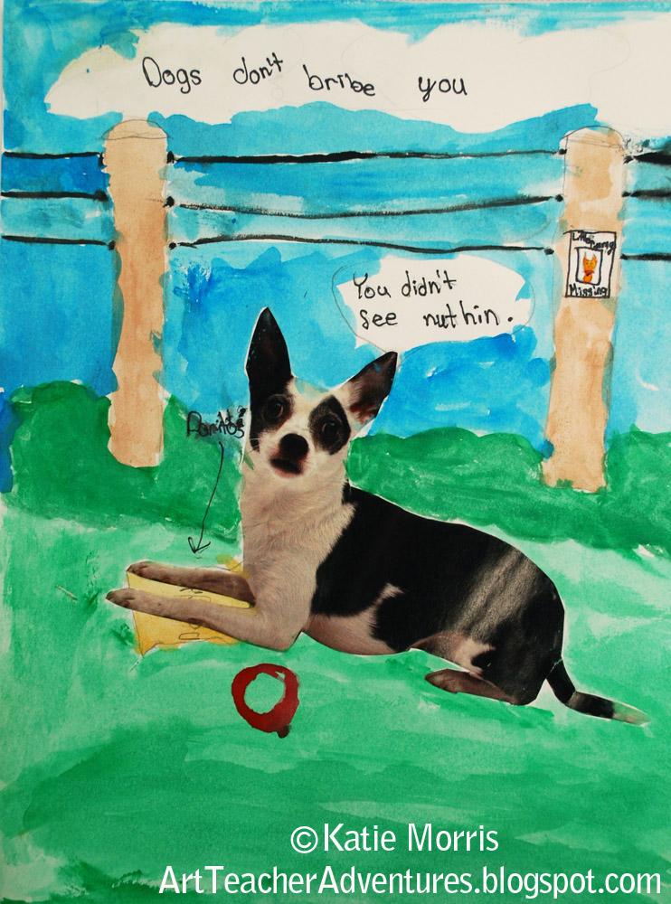 Adventures Of An Art Teacher Dogs Don 39 T Make Art