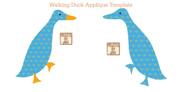 http://shopprojectsbyjane.blogspot.sg/2016/01/walking-duck-applique-template.html