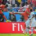 Chile no pudo con Holanda: 2-0 y enfrentará a Brasil en octavos