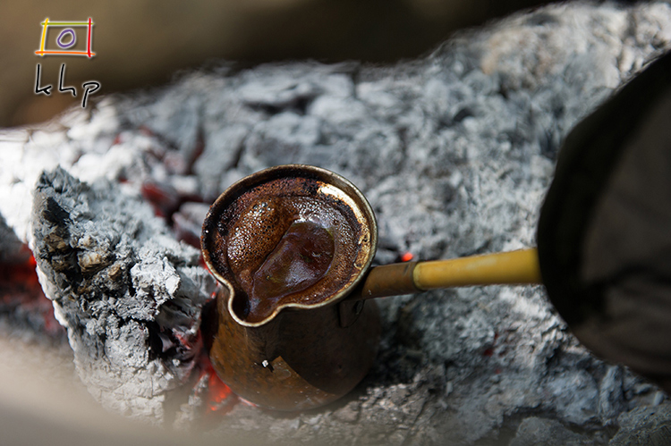 Turkish coffee is not brewed, it's cooked.  And you can cook it anywhere!