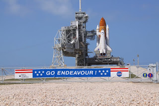 STS 134 Endeavour Launch pad
