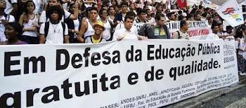CSP Conlutas lança manifesto contra PNE em Brasília