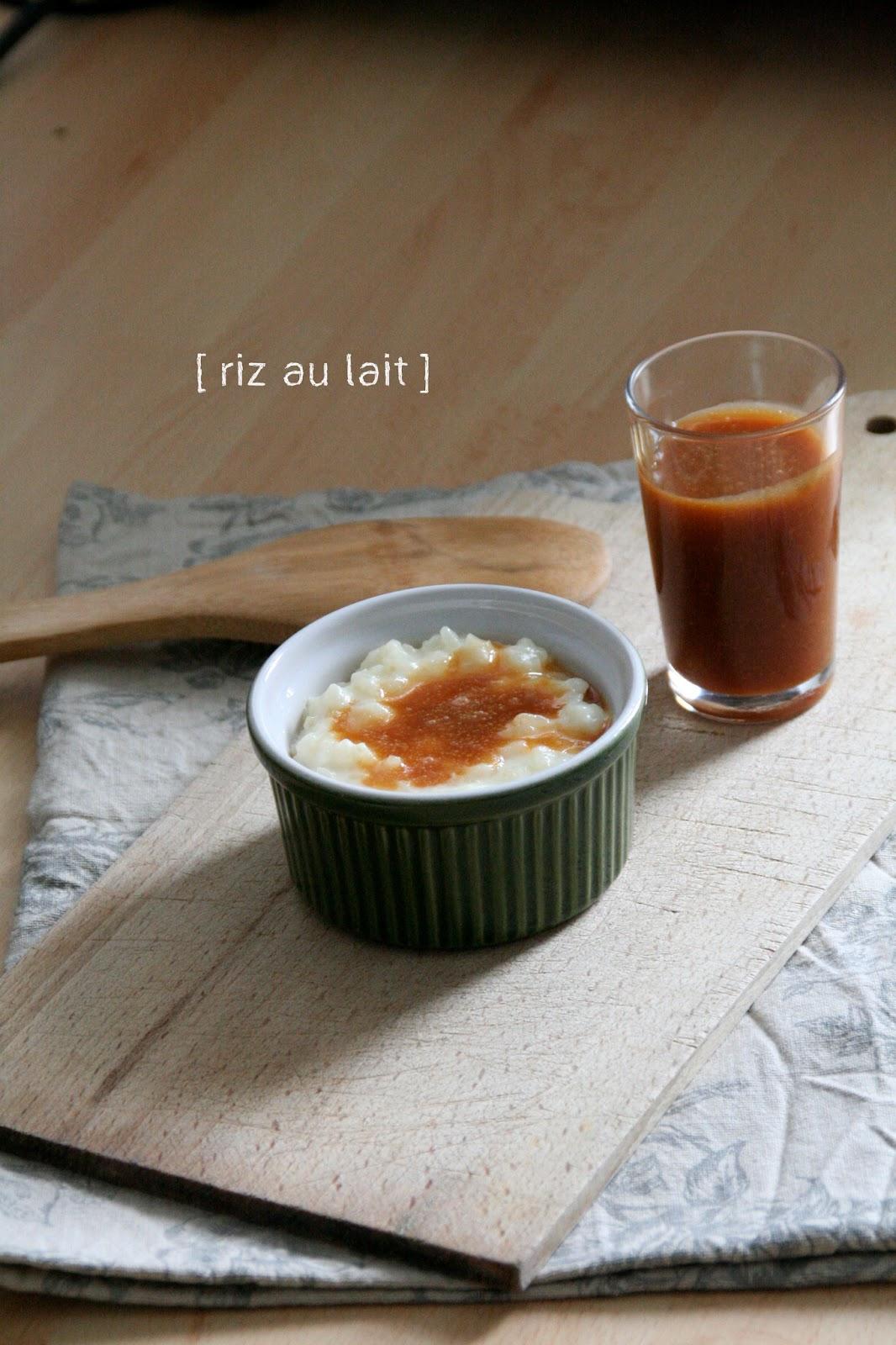 riz au lait au caramel au beurre sal blogs de cuisine. Black Bedroom Furniture Sets. Home Design Ideas
