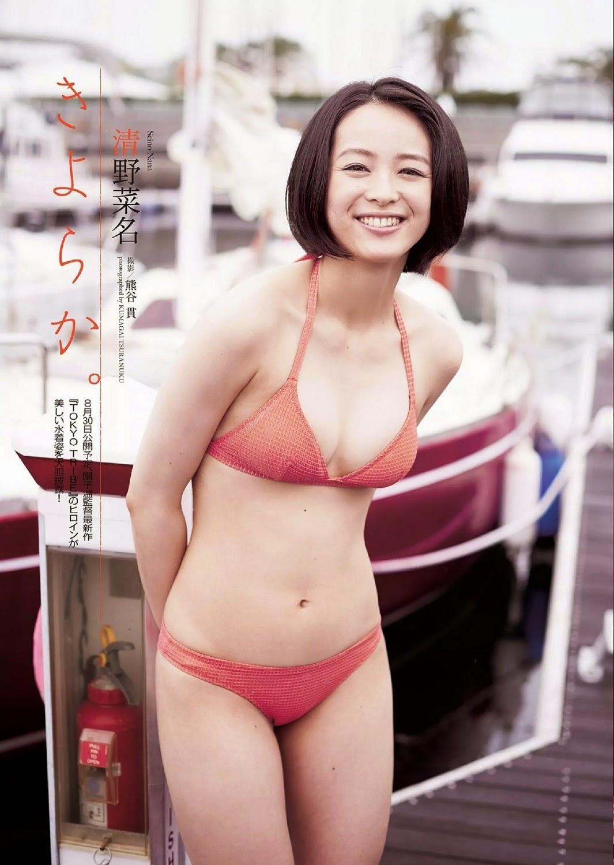 Seino Nana 清野菜名 Weekly Playboy July 2014 Photos