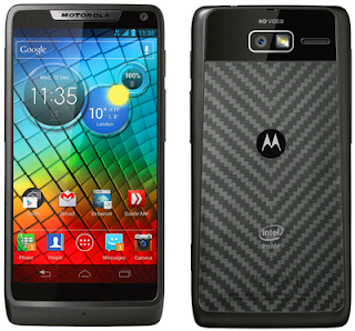 Motorola RAZR i comes with Intel 2GHz Atom processor