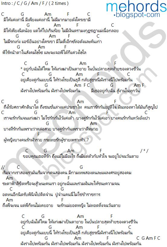 คอร์ดเพลง-ตราบธุรีดิน-Pmc(ปู่จ๋านลองไมค์)
