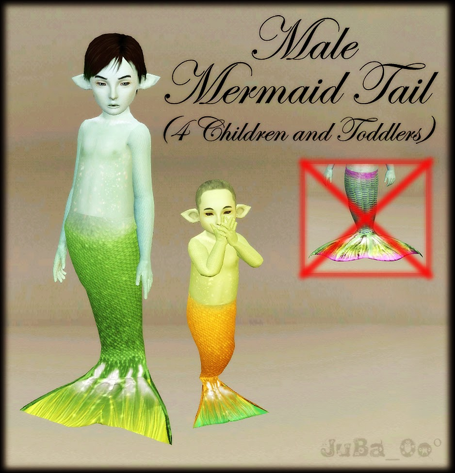 male mermaid tail 4 toddler child simmist