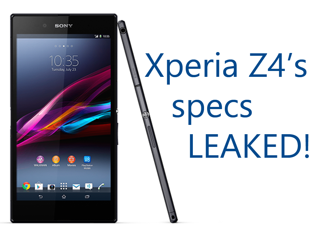 sony xperia z4 specifications features leaked this