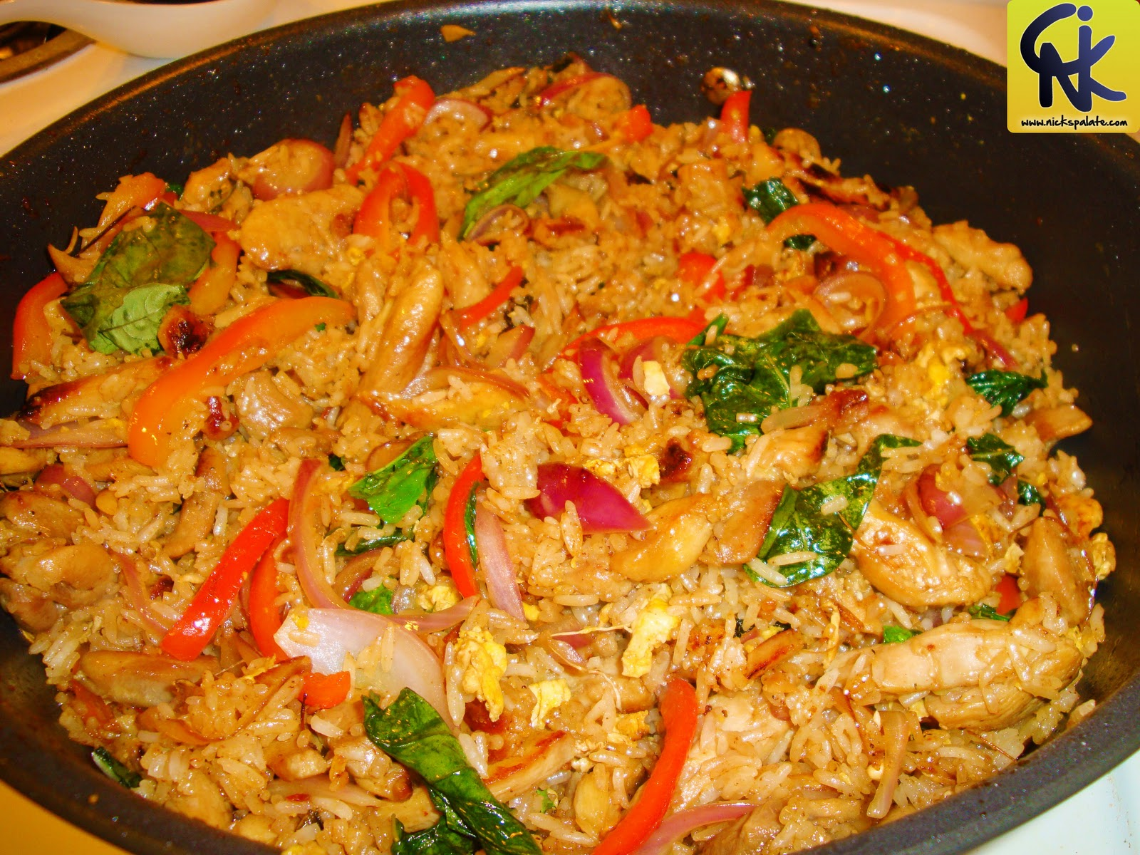 Thai fried rice nick 39 s palate for Fish and rice recipes