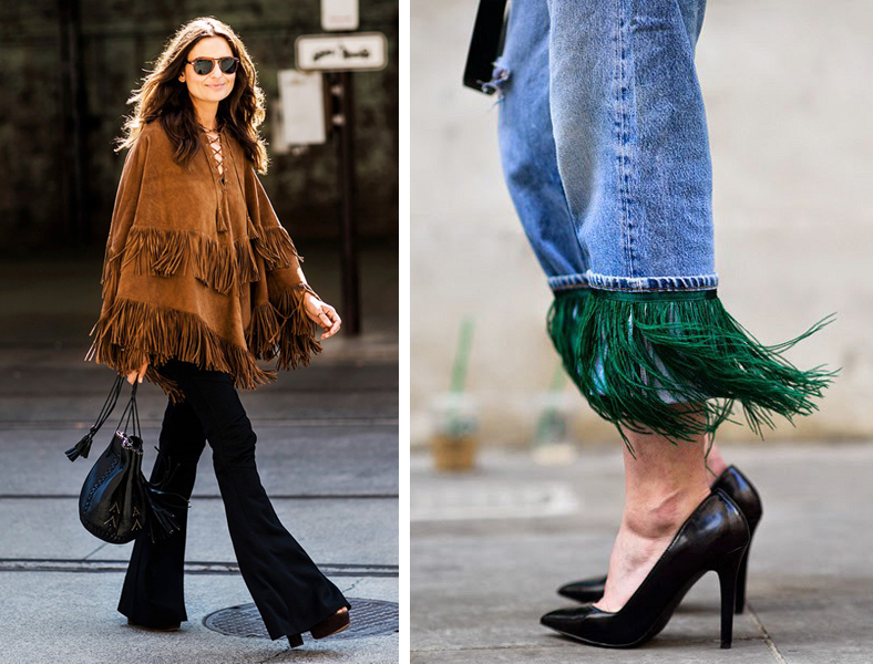 Fringe Fashion Inspiration - We Wore What and A Love is Blind