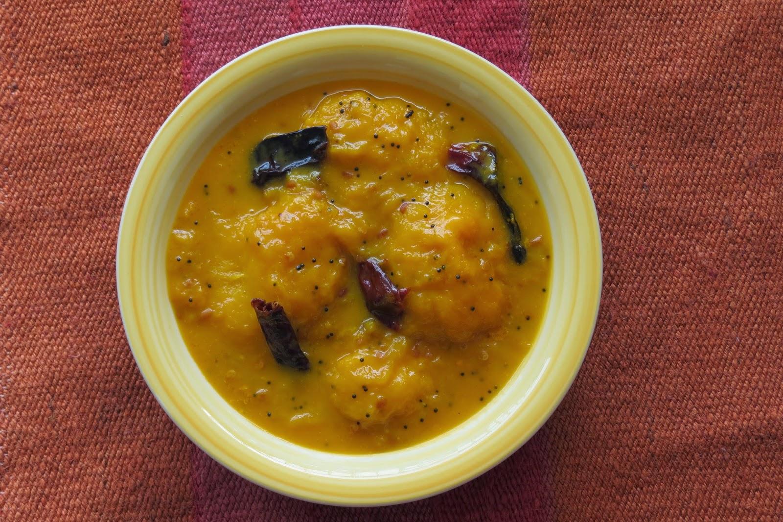 Ripe Mango Gravy (Ambe Hummane)