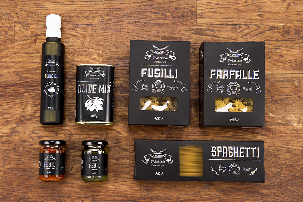 San Lorenzo Pasta Student Project On Packaging Of The