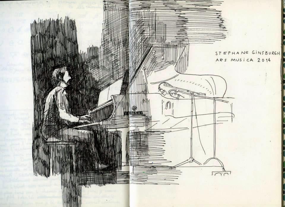 Stéphane Ginsburgh op Ars Musica