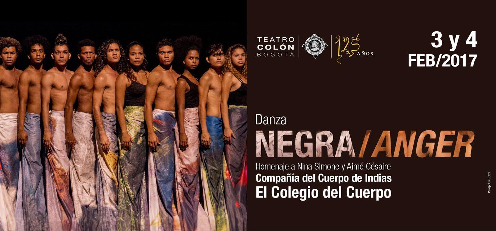'Negra/ Anger' en el Teatro Colón: un homenaje a Nina Simone y Aimé Césaire