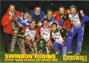 Swindon Robins 2000 KO Cup Champions