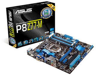 ASUS P8Z77-M Motherboard | WHQL Windows 8 Certification | World's First screenshot 1