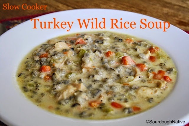 Turkey Wild Rice Soup, shared by Sourdough Native