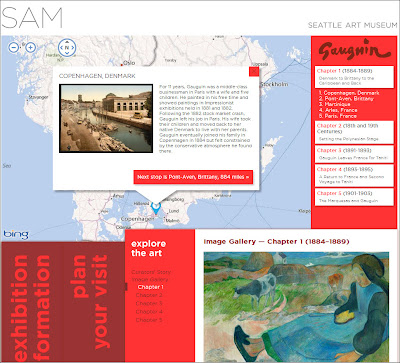 Gauguin & Polynesia – Exhibition Guide – Website for the Seattle Art Museum Exhibition