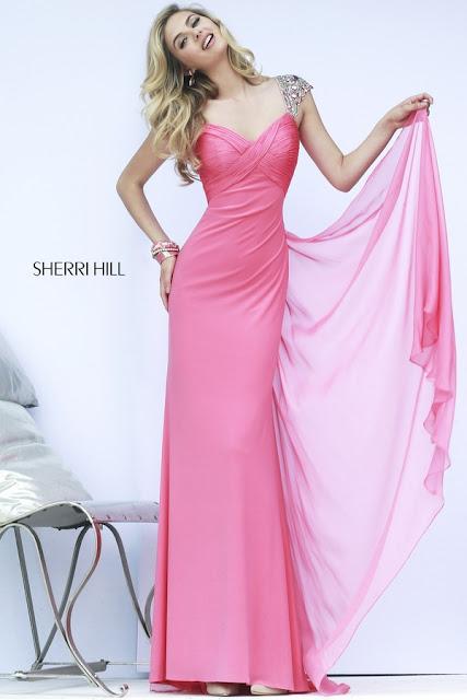 Sherri Hill Prom Dresses pink 2