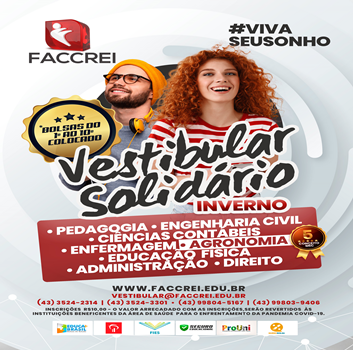 Vestibular Solidário FACCREI
