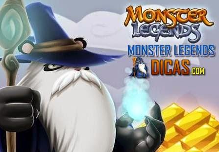 Ganhe Ouro Grátis no Monster Legends