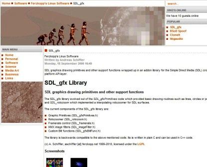 sdl_gfx site