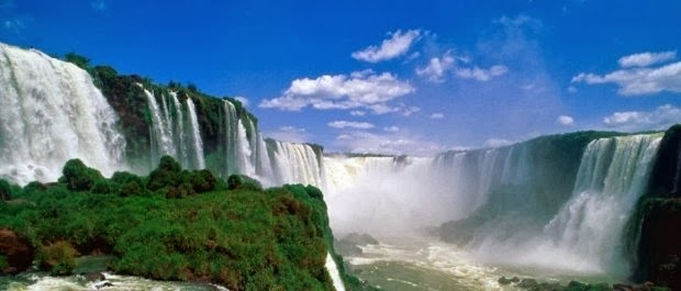Hermosa imagen de las cataratas de Iguazú