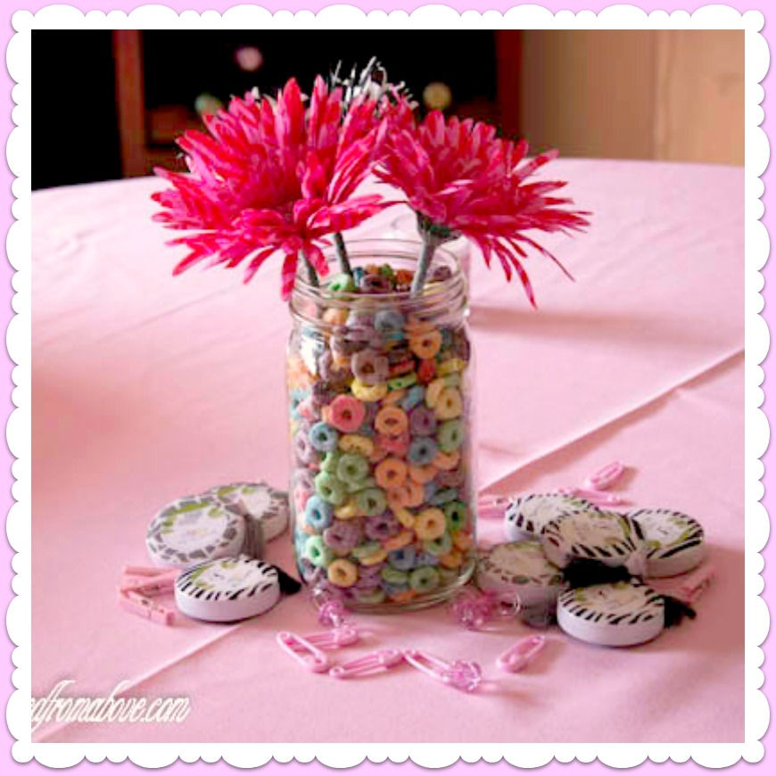 Baby shower decorations for girls best baby decoration for Baby shower decoration centerpieces
