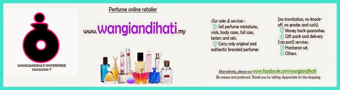 WANGIAN DI HATI : Original miniature perfume online shop