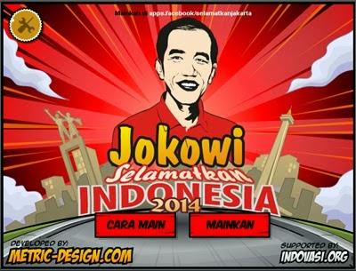 Game Jokowi Selamatkan Indonesia, Ramaikan Kampanye PDIP