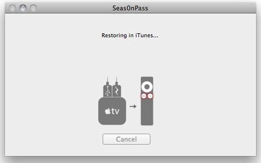 Restoring iTunes iOS 5.1 with Seas0nPass