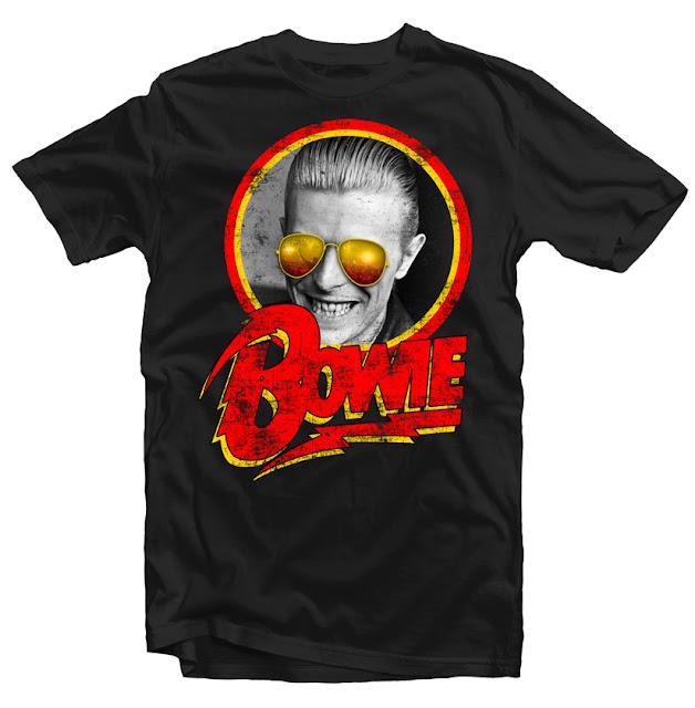 david bowie tshirt design