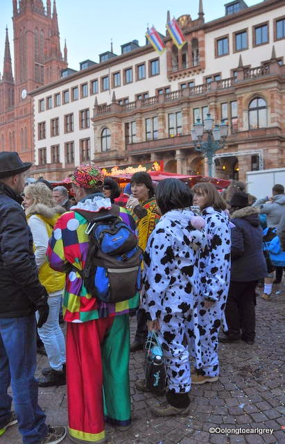 Characters of Fasching, Wiesbaden, Germany 2015