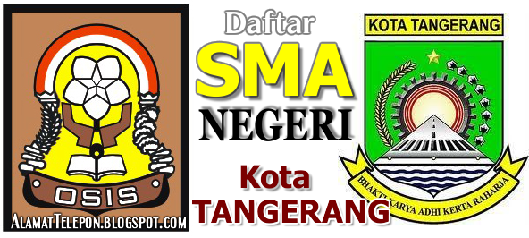 Daftar SMA Negeri di Kota Tangerang