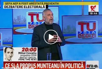"""Marian Munteanu: """"Vă spun eu când o să facă ei referendumul! Pe 1 aprilie! Dacă ar fi vrut, făceau"""""""