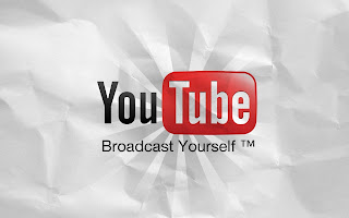 YouTube HD Wallpapers, Youtube HD Logo on a paper