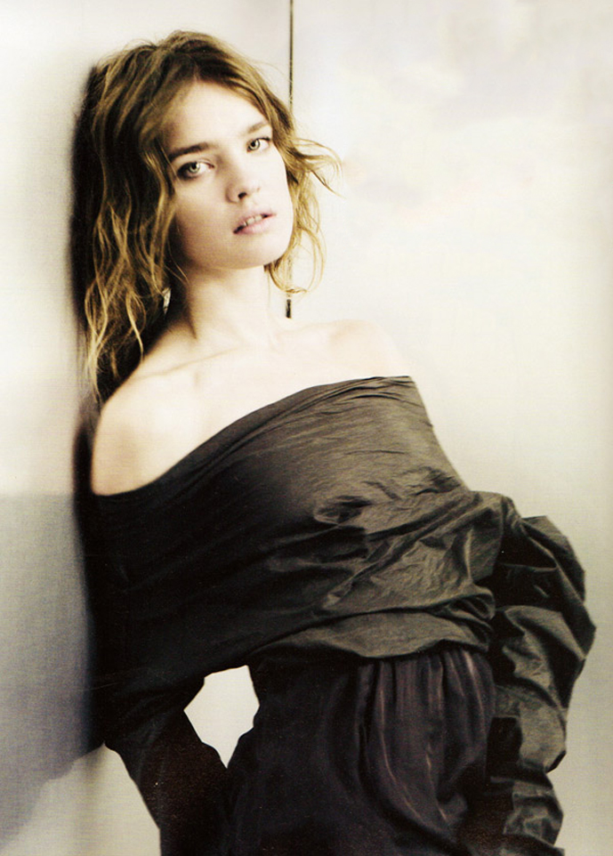 Natalia Vodianova by Paolo Roversi in i-D Spring 2010