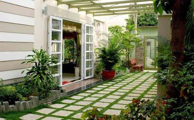 Một góc thiên nhiên cho ngôi nhà