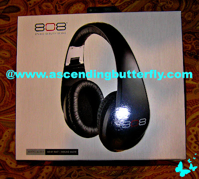 808 headphones Audiovox Voxx International matte black Audio Products Audio Accessories