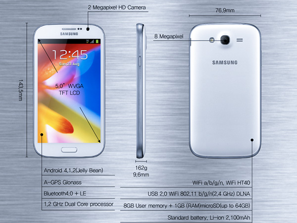 Samsung Unveiled Galaxy Grand Review