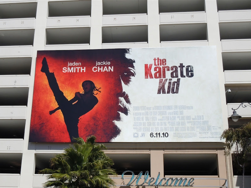 The Karate Kid movie remake billboard