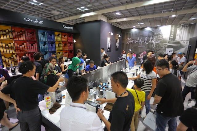 Arissto, the exhibition's platinum sponsor,